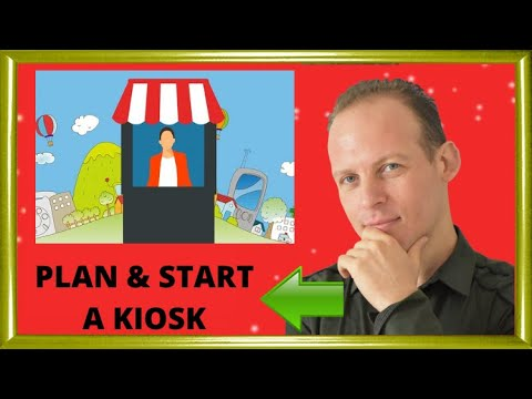 Business plan & start: Why a mall kiosk is a good business & How to open a kiosk in a mall
