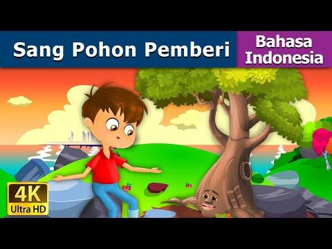 Sang Pohon Pemberi - Dongeng bahasa Indonesia - Dongeng anak - 4K UHD - Indonesian Fairy Tales