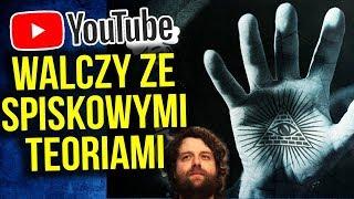 YouTube Walczy ze Spiskowymi Teoriami - Koniec Wideoprezentacje i Alex Jones ? - Komentator