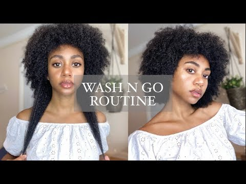 high-porosity-wash-n-go-+-length-check!-(type-4-hair)-ft.-verb-hair