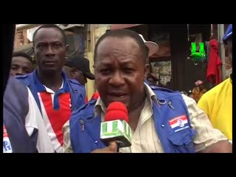 Manhyia North: NPP members embark on clean-up exercise