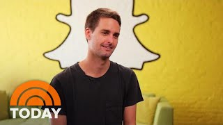 Snapchat CoFounder Evan Spiegel Responds To Privacy, Security Concerns TODAY