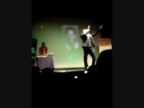 Kumasi I AM MALCOLM X Bradford Playhouse 28th Feb 09