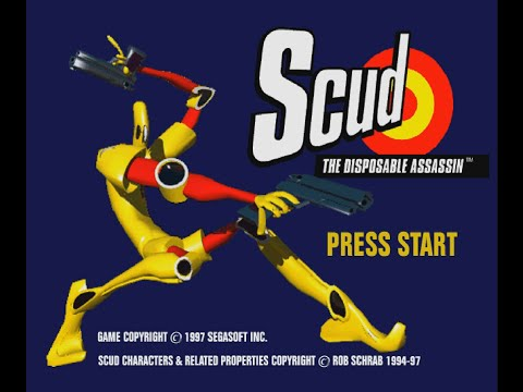 Scud: The Disposable Assassin [Sega Saturn] [1 of 2]