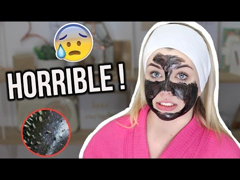CRASH TEST: HORRIBLE BLACKHEADS MASK !