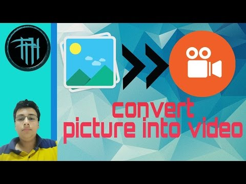 How to convert photo to video with music on android