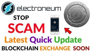 Electroneum Coin Stop Scam Latest Quick Update Blockchain Live Soon Exchange Coming Video Hindi/Urdu