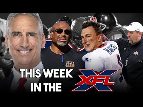This Week in the XFL | Draft, Preseason, TV Deals and.... Team 9?