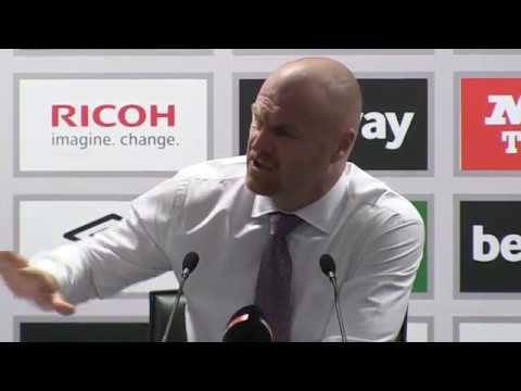 Dyche: Burnley players unaffected by West Ham protests