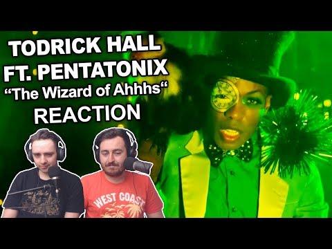"""Todrick Hall ft. Pentatonix - The Wizard of Ahhhs"" Singers Reaction"