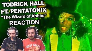 todrick hall ft pentatonix the wizard of ahhhs reaction