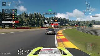 Gran Turismo™SPORT Daily Race 1177 Spa-Francorchamps Jaguar F-type GT4 Onboard
