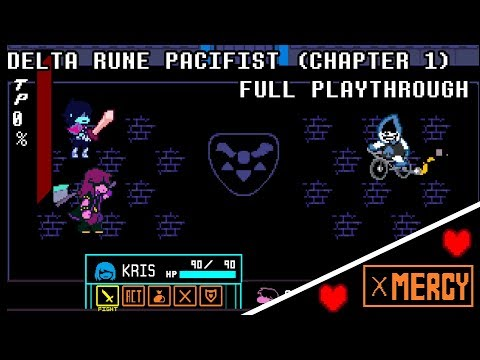 DELTA RUNE (Pacifist Route, Full Chapter 1 Playthrough) |Undertale Official Spin Off