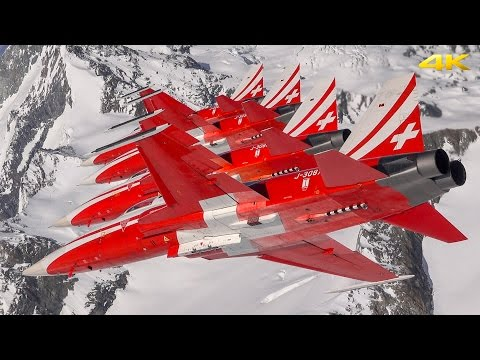Flying with the Patrouille Suisse 4K