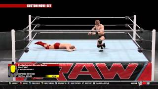 WWE 2K15  New Moves DLC Pack, All New Moves Previewed!