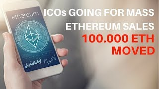 Ethereum ETH Mass Sell Off By ICOs! NOT Bitcoin Bubble But ICO Bubble Burst?