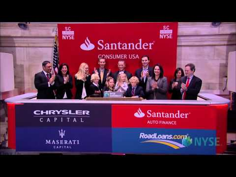 Santander Consumer USA Holdings Lists IPO on the New York Stock Exchange