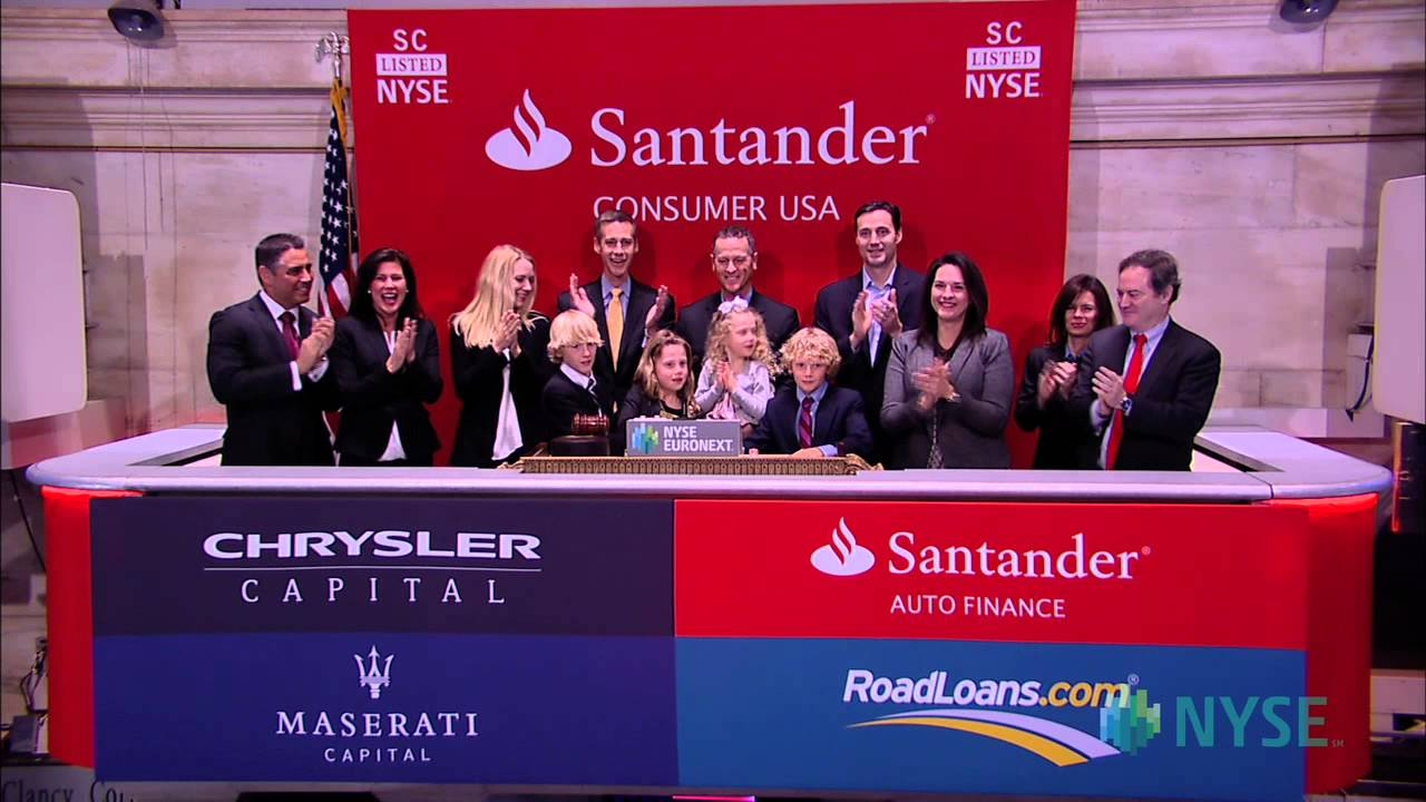 Santander Consumer USA Holdings Lists IPO On The New York