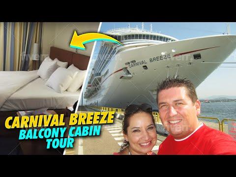 Carnival Breeze Cove Balcony Stateroom Tour