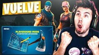 GAME PATIO AGAIN! 2 GIFT SKINS! FORTNITE: Battle Royale