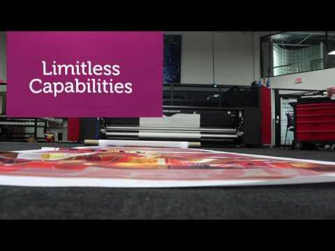 EFI VUTEk FabriVU Soft Signage Printer Series Overview