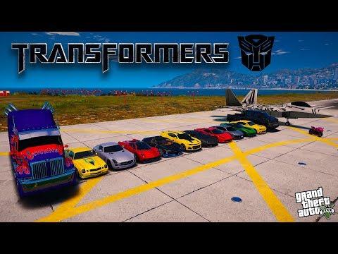 🔥 Машины из фильма Трансформеры в GTA 5
