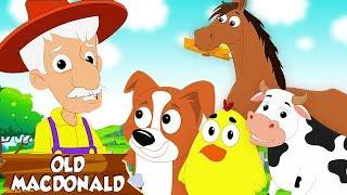 แมคโดนัลด์เก่า | เพลงเด็ก | วิดีโอเด็ก | Old Macdonald Had A Farm |Nursery Songs | Toddler Rhymes
