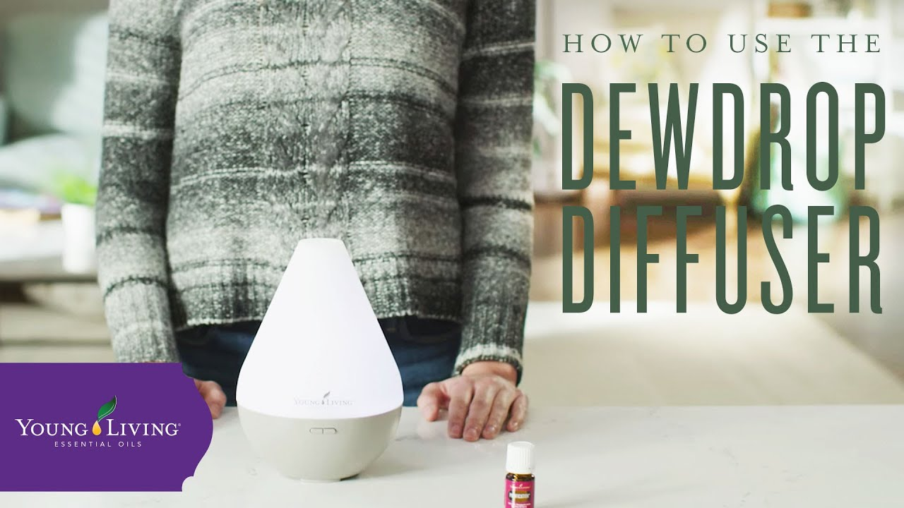 How to Use the Young Living Dewdrop Ultrasonic Diffuser