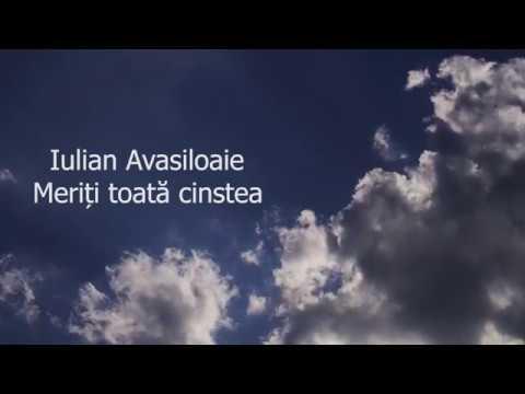 Iulian AvasiloaIe - Meriti toata cinstea