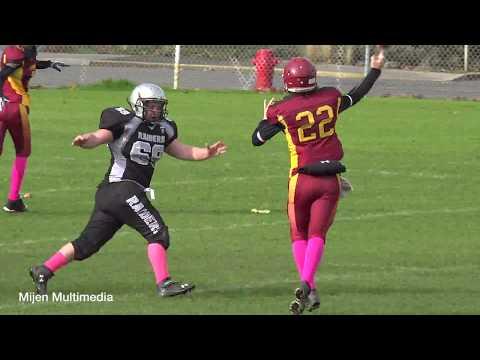 10-22-17 - Midget Football - Comox Raiders at Cowichan Bulldogs