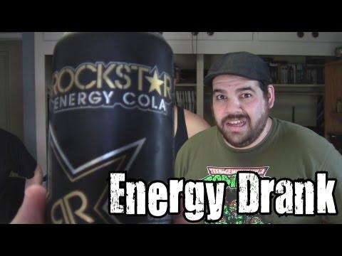 Energy Drank - Rockstar Energy Cola vs. El Gallo Energy
