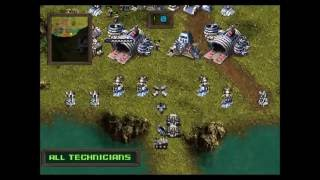 Main Game KKND Krossfire 1 VS 2 HARD MODE PS1