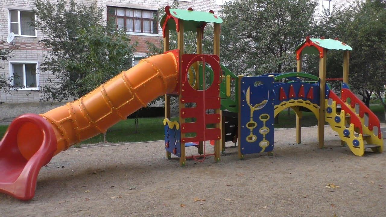 Открытие детских площадок