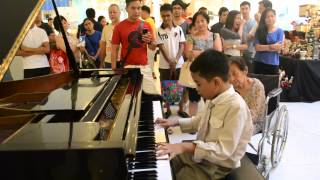 Video Karl Estoesta Buttercup In Piano @ Eastwood Mall July 13 2014 download MP3, 3GP, MP4, WEBM, AVI, FLV November 2017