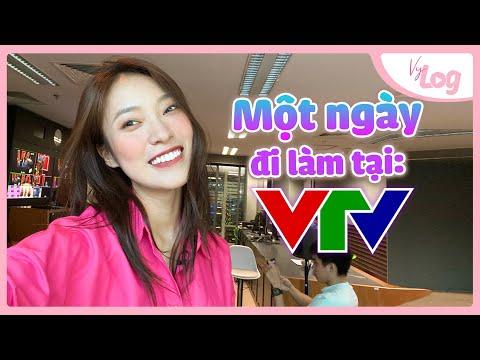 Đi làm tại VTV có gì vui? | Công việc MC |  VyLog Ep.20