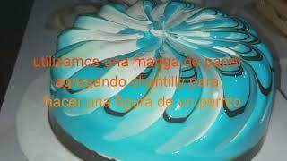 Como decorar una torta con crema chantillí ,nivel básico #1