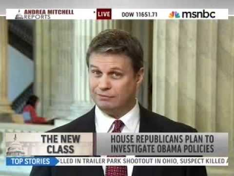 Huizenga Previews the 112th Congress with Andrea Mitchell on MSNBC