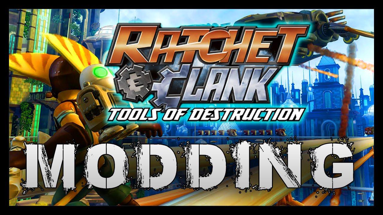 Ratchet Clank Tools Of Destruction Mods Hacks Youtube