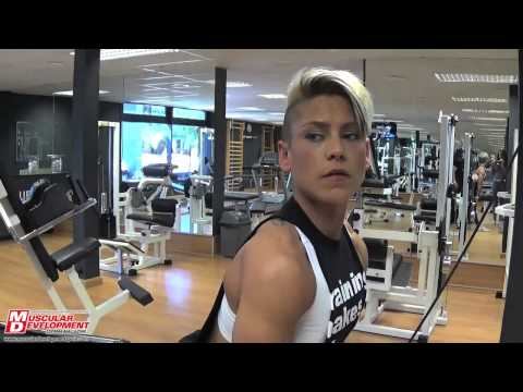 Marta Balboa para Muscular Development España
