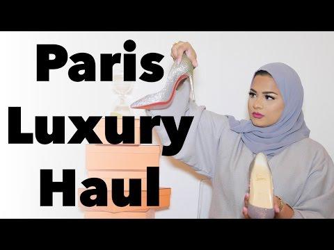 Paris Luxury Haul + Try On | Gianvito Rossi, Hermes, Goyard, Christian Louboutin + MORE