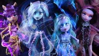 Monster High Party Like a Monster Haunted Stop Motion Music Video