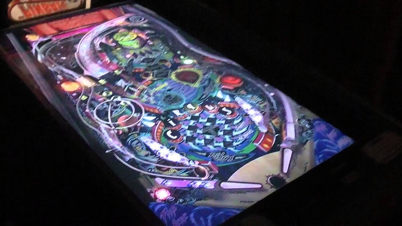 Pinball Arcade Portrait in Virtual Cabinet (Vid #1) - Cirque ...