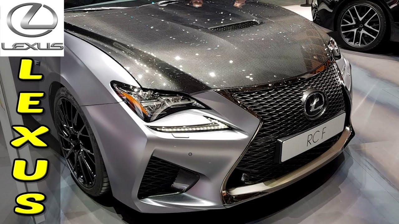 2019 New Lexus Rc F V8 Sport Japanese Cars Youtube