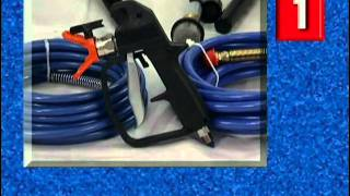 Graco Magnum Airless Paint Sprayer Operational Video Part 1 (of 2)
