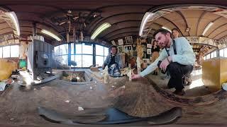 米沢市360°映像 ⑫笹野一刀彫