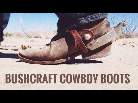 Modified Gear Tag Response: Bushcraft Cowboy Boots
