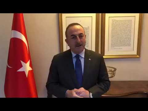 Bakan Çavuşoğlu'ndan 'Evde Kal' Paylaşımı