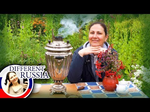 Strangest Teapot In The World! How To Make Tea In Real Russian Samovar