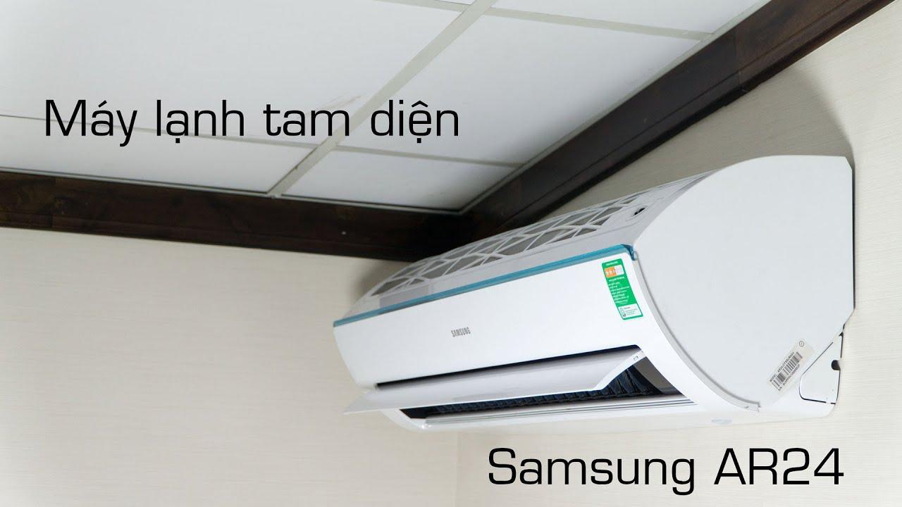 Tinhte.vn - Máy lạnh tam diện Samsung AR24