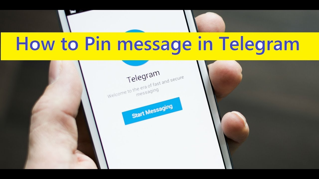 How to Pin message in Telegram Channel [Simplest Way]